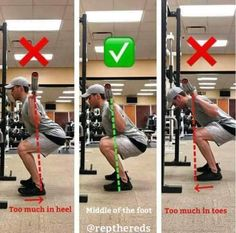 a powerlifting deadlift workout Fitness Workouts, Fun Workouts, Squats Fitness, Bodybuilding, Gym Tips, Squat Workout, Muscle Fitness, Fitness Diet, Weight Training