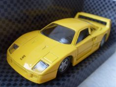 Ferrari  F40 New Vintage Yellow Car Model Made in 1990s by Astra9, $18.80