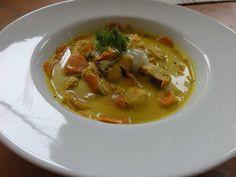 Cremige Currysuppe vom Hecht - Rezept mit Bild - kochbar.de