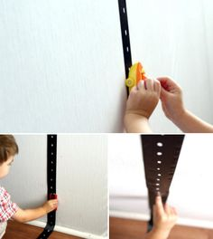 Great idea! Paint white lines onto black ribbon and use tape to stick to walls, floors anywhere for car fun!