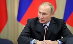 President of Russia Vladimir Putin.