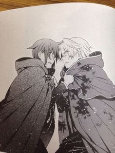 Leo and Oz ||| Pandora Hearts Retrace 101
