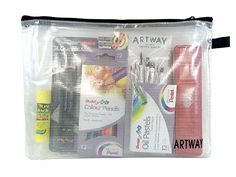 Artway Essentials Art Kit - Ideal for GCSE and A-Level Creative / Art Courses Hobbies And Crafts, Arts And Crafts, Drawing Letters, Art Courses, Coloured Pencils, Leather Journal, Brush Set, Creative Art, Handmade Items