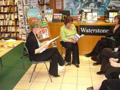 Book Launch, St. Andrews, Scotland