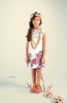 Kenzo Kids summer 2012 tropical styling for children's fashion