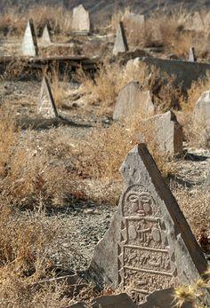 JOJO POST STAR GATES: Persian,  Iranian grave markers