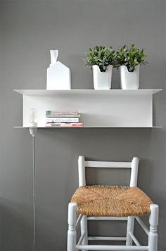 Nachttisch Lampe DIY Textilkabel (moet je voor bij snoerboer.nl zijn)