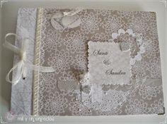 Mil y un enredos: Romántico libro de firmas #bodas #wedding #book