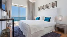 In Villa Mar à Vista - Vila Vita Collection - you enjoy living in your very own beach house with friends and family for up to 11 persons. Algarve, Villa, Infinity Pool, Beach House, Collection, Bed, Furniture, Home Decor, Air Travel