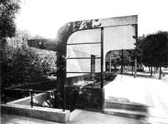 Tram stop | Objects | Brno Architecture Manual. A Guide to 1918-1945 Architecture,Oskar Poriska