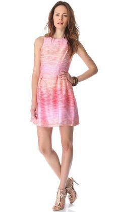 Ombre PInk and Orange Shoshanna