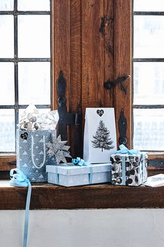 It's Christmas time // Gift wrapping // Explore the new collection in Søstrene Grenes Christmas Catalogue 2016