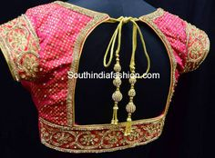 blouse designs for wedding kanjeevaram silk sarees, pattu saree blouse designs
