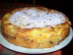 Rýchly jabĺčnik s orechami a škoricou. Apple Dessert Recipes, No Bake Desserts, Delicious Desserts, Cake Recipes, Snack Recipes, Cooking Recipes, Yummy Food, Croatian Recipes, Hungarian Recipes