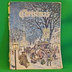 """Vintage 1953 Large Annual Magazine, """"Christmas,"""" Augsburg Publishing House"""