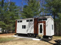 """269 Likes, 13 Comments - Liberation Tiny Homes (@liberation_tiny_homes) on Instagram: """"We will be adding a deck sometime in the next month or so, but we are ready to go, and will be on…"""""""