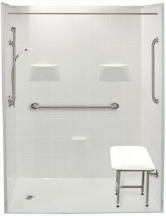 Freedom Accessible Showers | Barrier Free Showers | Handicap Shower Stalls for Your Home