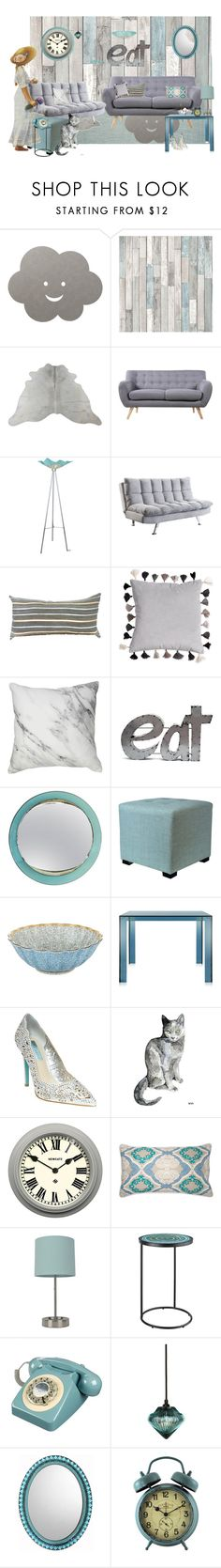 """""""❤ Home Sweet Home"""" by catfabricsandbuttons ❤ liked on Polyvore featuring interior, interiors, interior design, home, home decor, interior decorating, Safavieh, LIND DNA, Madison and Van Teal"""