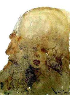 Assuerus Falls in Love with Esther - Assueres adamavit Esther (Esther 2:17) - Salvador Dali - Expressionism, 1964
