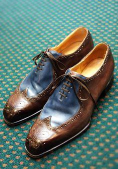 ¿Os atrevéis con zapatos estilo retro? #mens #shoes.