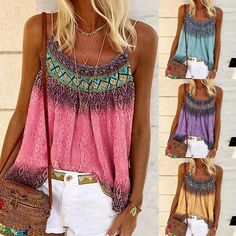 The Boho Strappy Top is a lightweight cotton stretch blend, Ideal for Summer Break Comes in Pink, Lilac, Yellow & Blue, Collect Them All  Come and Visit our site: workingwhatnot.com/ Shirt Blouses, Shirts, Blouses For Women, Vintage Ladies, Spring Summer, Plus Size, Sexy, Lilac, Pink
