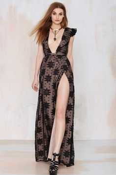 The Jetset Eternal Whispers Embroidered Dress | Shop Product at Nasty Gal!