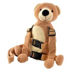 Goldbug 2 in 1 Harness Buddy Bear