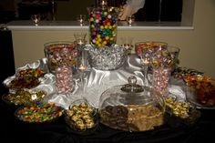 Candy Buffet at my wedding.