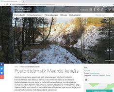 Puhka Eestis / Phosphate rock mining area in Estonia - Landscape Wallpaper by Retked Youtube Images, Landscape Wallpaper, Travel Destinations, Desktop Screenshot, Holiday Booking, Earth, Rock, Instagram, Road Trip Destinations