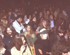 the Beatles (sans McCartney) came to Dylan's concert at the Isle of Wight