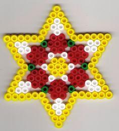 Stern Bügelperlen/  Star perler beads