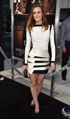 "Leighton Meester - Premiere Of Warner Bros. Pictures And Village Roadshow Pictures' ""The Judge"""
