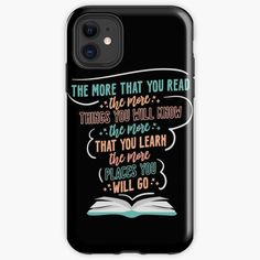 Iphone 11, Iphone Cases, Books To Buy, Book Lovers, Learning, Printed, Awesome, Products, Art