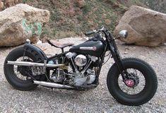 1947 Harley Knucklehead. FL 1200cc high compression Knucklehead engine. http://www.baasmetalcraft.com