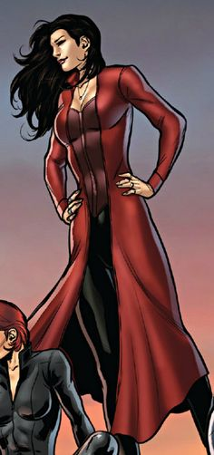 Scarlet Witch MCU Comic Style