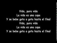Don Omar - Pura Vida (letra original) lyrics - YouTubehttps://www.youtube.com/watch?v=vbF1KoP7Or0