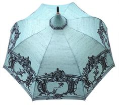 Amazon.com: Chantal Thomass MOULURES VERSAILLES Long Handle Pagoda Umbrella - Turquoise: Clothing