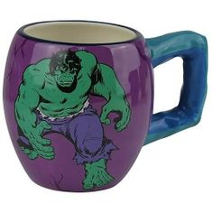 Westland Giftware The Incredible Hulk Mug, 15-Ounce by Westberry Wellness Programs. $13.00. Exceptional quality. Made of ceramic material. Fun Characters. Bright and cheery. Wonderful gift. This fun, action-packed drinking mug features your favorite character from Marvel. Westland Giftware is internationally known for quality and design.