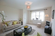 Living Room at Plumlife Development - Brown Leaves Grove, Copster Green.