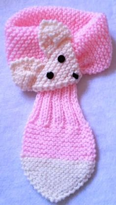 Knit Fox Scarf, Keyhole Scarf, Stay Put - maallure Crochet Girls Dress Pattern, Crochet Kids Scarf, Baby Booties Knitting Pattern, Baby Hats Knitting, Baby Knitting Patterns, Loom Knitting, Crochet Baby, Knit Crochet, Diy Crafts Crochet