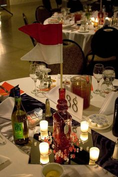 military ball centerpieces   ... spring theme..   Military ...