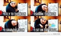 Gru dispicable me quote