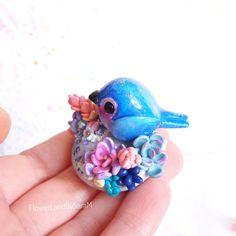 Good vibes bird, Dream. One of a kind by FlowerLandbySaraM, $40.00 USD