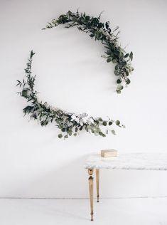 C'est sans surprise que j'ai craqué pour cette tendance eucalyptus,elle s'adopte tout l'hiver pour apporter un coup de frais sans prétention chez soi.