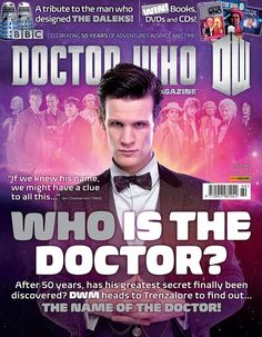 Cover To Doctor Who Magazine 460
