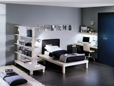30 Awesome Teenage Boy Bedroom Ideas | Bump, Bedrooms and 30th