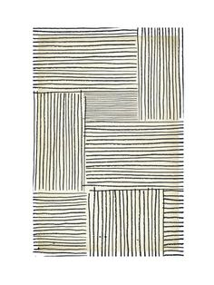 Sketchy Lines Wall Art Prints
