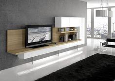 Mueble moderno roble blanco