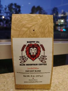 "Limited Edition ""Far East"" Blend. A combination of coffees from Jamaican Blue Mountain, Chinese Yunnan, Sumatra, Vietnam and Myanmar. Jamaican Coffee, Blue Mountain, Stamping Up, Vietnam, Chinese, Stampin Up, Chinese Language"