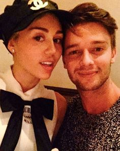 """Posting a Valentine's Day selfie with girlfriend Miley Cyrus, Patrick Schwarzenegger called himself the """"luckiest guy in the world"""""""